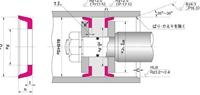 NOK パッキン ODI23020519 (FU1633H0) ピストンシール専用パッキン ODI型