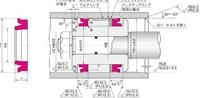 NOK パッキン OSI27025012 (FU1717L0) ピストンシール専用パッキン OSI型