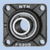 NTN 印ろう付角フランジ形ユニット 給油式 UCFS311D1