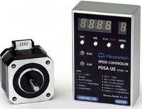 シナノケンシ CSA-US42D2D 発振器内蔵スピードコントローラセットステッピングモーター 両軸タイプ(取付42mm)