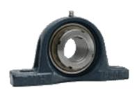 FYH 日本ピローブロック UKPX18C ピロー形ユニット テーパ穴・鋼板カバー付き(貫通形)