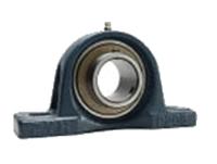 FYH 日本ピローブロック UCP322C ピロー形ユニット 円筒穴・鋼板カバー付き(貫通形)