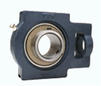 FYH 日本ピローブロック UCTX16C テークアップ形ユニット 円筒穴・鋼板カバー付き(貫通形)