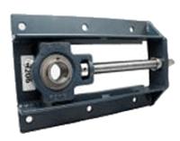 FYH 日本ピローブロック UCTH202 形鋼製フレーム付きテークアップ形ユニット 円筒穴(止めねじ付き)