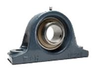FYH 日本ピローブロック UCIP328C 厚肉ピロー形ユニット 円筒穴・鋼板カバー付き(貫通形)