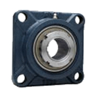 FYH 日本ピローブロック UKFX18D 角フランジ形ユニット テーパ穴・鋼板カバー付き(一端密閉形)