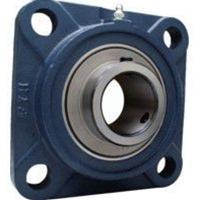 FYH 日本ピローブロック UCFS319D 印ろう付き角フランジ形ユニット 円筒穴・鋳鉄カバー付き(一端密閉形)
