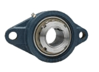 FYH 日本ピローブロック UKFL320C ひしフランジ形ユニット テーパ穴・鋼板カバー付き(貫通形)