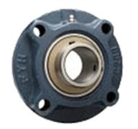 FYH 日本ピローブロック UCFCX15 印ろう付き丸フランジ形ユニット 円筒穴(止めねじ付き)