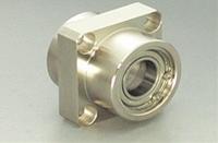 MIYOSHI 小西製作所 DSIS-6004ZZ ベアリングホルダーセット(止め輪付インローダブルタイプ四角型)