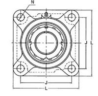 旭精工 角フランジ形ユニット UKF312