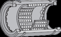 NTN リニアボールベアリング KD7095100LL/3AS ストローク形