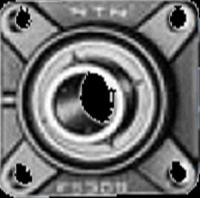 NTN 鋳鉄製印ろう付角フランジ形ユニット UCFS310 円筒穴形
