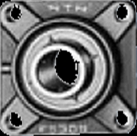 NTN 鋳鉄製印ろう付角フランジ形ユニット UCFS315 円筒穴形