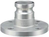 小澤物産 レバーカップリング OZ-AF-SUS-3/4 (20A) フランジ付アダプター ステンレス 【当商品のご購入は別途送料1,728円が必ず掛かります】