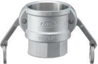 小澤物産 レバーカップリング OZ-D-SUS-2 (50A) メスネジ型カプラー ステンレス 【当商品のご購入は別途送料1,728円が必ず掛かります】