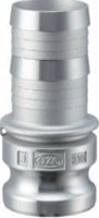 小澤物産 レバーカップリング OZ-E-SUS-4 (100A) ホースシャンクアダプター ステンレス 【当商品のご購入は別途送料1,728円が必ず掛かります】