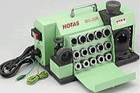 大特価 ハイス用:伝動機 DG-25R (HOTAS) ホータス 店 鉄骨用(ローソク型)研磨 卓上型ドリル研磨機-DIY・工具