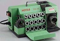 【オープニングセール】 ハイス用:伝動機 店 ホータス 円錐型研磨 DG-34 卓上型ドリル研磨機 (HOTAS)-DIY・工具