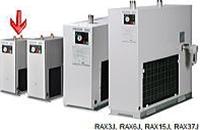 小型シリーズ 冷凍式エアードライヤー 単相100V 空冷式 オリオン機械 RAX3J-A1
