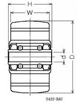 ハンマーキャスター 300S-N200 ナイロン車