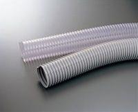 世界的に有名な 50m:伝動機 エアーダクトホース (PLAS・TECH) グレー DT-50 プラス・テク 店-DIY・工具