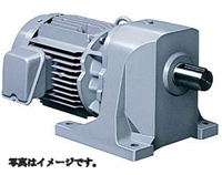 日立産機システム GP48-750-10B 7.5kW 1/10 三相200V トップランナーギヤモータ GPシリーズ (脚取付 ブレーキ付き)
