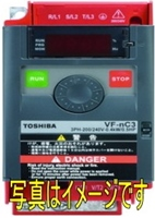 東芝 VFNC3-2004P 0.4kw 三相200V インバータ VFNC3シリーズ(簡単・小形)