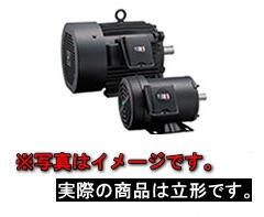 富士電機 MLU1133C-6 3.7kW-6P 三相200V プレミアム効率モータ (全閉外扇形 フランジ取付形)