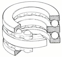 NSK・日本精工 52214 ベアリング 複式スラスト玉軸受