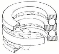 NSK・日本精工 52217 ベアリング 複式スラスト玉軸受