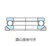 NSK・日本精工 53311U ベアリング スラスト玉軸受 調心座金付き