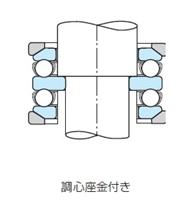 NSK・日本精工 54408U ベアリング スラスト玉軸受 調心座金付き