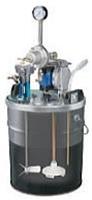 アネスト岩田 DPS-702C 小形ダイアフラムペイントポンプ タンクマウント式 (20Lペール缶用)