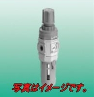 CKD W4000-15-W-F フィルタ・レギュレータ 標準白色シリーズ 手動付オートドレン(NOタイプ:無加圧時排出有)