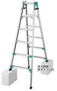 長谷川工業 RYZ1.0-18 脚立 はしご兼用【こちらの商品は個人宅へのお届けはできません(法人のみ)】