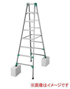長谷川工業 RYZ1.0-24 脚立 はしご兼用【こちらの商品は個人宅へのお届けはできません(法人のみ)】