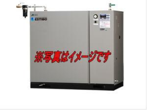 アネスト岩田 CFBS55BF-14M5 オイルフリーブースターコンプレッサ 空気 窒素用 中形パッケージタイプ 5.5kw 三相200V 50Hz用 車上渡し品