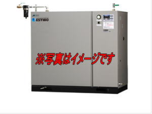 アネスト岩田 CFBS75BF-20M6 オイルフリーブースターコンプレッサ (空気・窒素用) 中形パッケージタイプ 7.5kw 三相200V 60Hz用【車上渡し品】