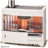 サンポット UFH-7731UKC(W)ホワイト 床暖内蔵煙突式石油暖房機 Kabec カベック