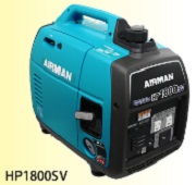 北越工業 (AIRMAN) HP1800SV-A1 小型ガソリンエンジン発電機 自励式多極界磁回転型