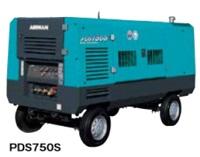 北越工業 (AIRMAN) PDS750S-4B1 エンジンコンプレッサ トレーラタイプ