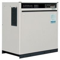 北越工業 (AIRMAN) SAS11RD-6C スクリュコンプレッサ 空冷タイプ 60Hz