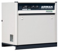 北越工業 (AIRMAN) SAS6SD-6C スクリュコンプレッサ 空冷タイプ 50Hz