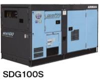 北越工業 (AIRMAN) SDG100S-3B1 可搬形エンジン発電機