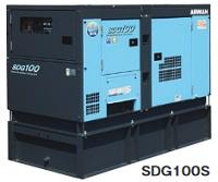 人気デザイナー 北越工業 (AIRMAN) SDG100S-7B1 オイルフェンス一体型エンジン発電機, 大網白里町 c44ab083