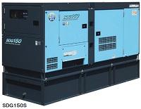 北越工業 (AIRMAN) SDG150S-7B1 オイルフェンス一体型エンジン発電機
