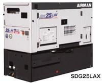 北越工業 (AIRMAN) SDG25LAX-5B1 大容量燃料タンク搭載リークガードエイブルジェネレータ