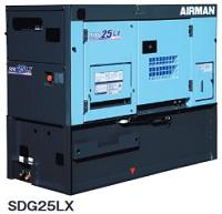 北越工業 (AIRMAN) SDG25LX-5B1 大容量燃料タンク搭載リークガードエンジン発電機