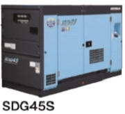北越工業 (AIRMAN) SDG45S-3B2 可搬形エンジン発電機